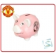 MANCHESTER UNITED Football Club Official Pink Piggy Bank EX2407-6V3