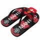 MANCHESTER UNITED Football Club Official Flip Flops Adult Size 9 p35flimue