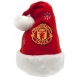 MANCHESTER UNITED Football Club Official Santa Hat q45hatmu