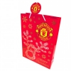 MANCHESTER UNITED Football Club Official Christmas Gift Bag Medium RS r30cgimu