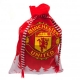 MANCHESTER UNITED Football Club Official Luxury Christmas Present Sack r35cprmulx