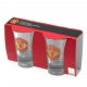 MANCHESTER UNITED Football Club Official 2pk Shot Glass Set u40shomu