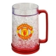 MANCHESTER UNITED Football Club Official Plastic Freezer Tankard u52fremu