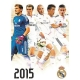 REAL MADRID Football Club Official Calendar 2015 d47a3crm