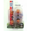 ENGLAND World Cup 2014 4 Player Blister Pack A SOCCERSTARZ FIGURINES