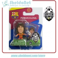 SoccerStarz Football Figurine BARCELONA - CARLES PUYOL (5) 2013-14 Away Kit