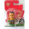 SoccerStarz Football Figurine ARSENAL - THEO WALCOTT (14) 2013-14 Away Kit